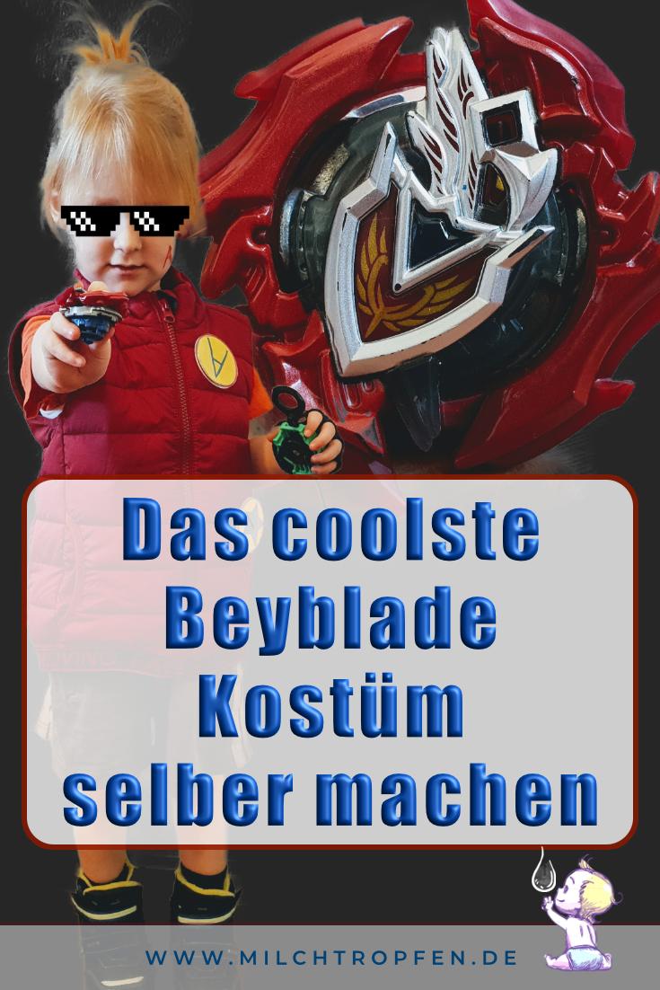 Das coolste Beyblade Kostüm selber machen | Mehr Infos auf www.milchtropfen.de
