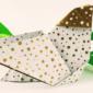 Origami Huhn basteln