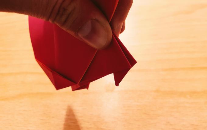 Origami Füße von Origami Huhn