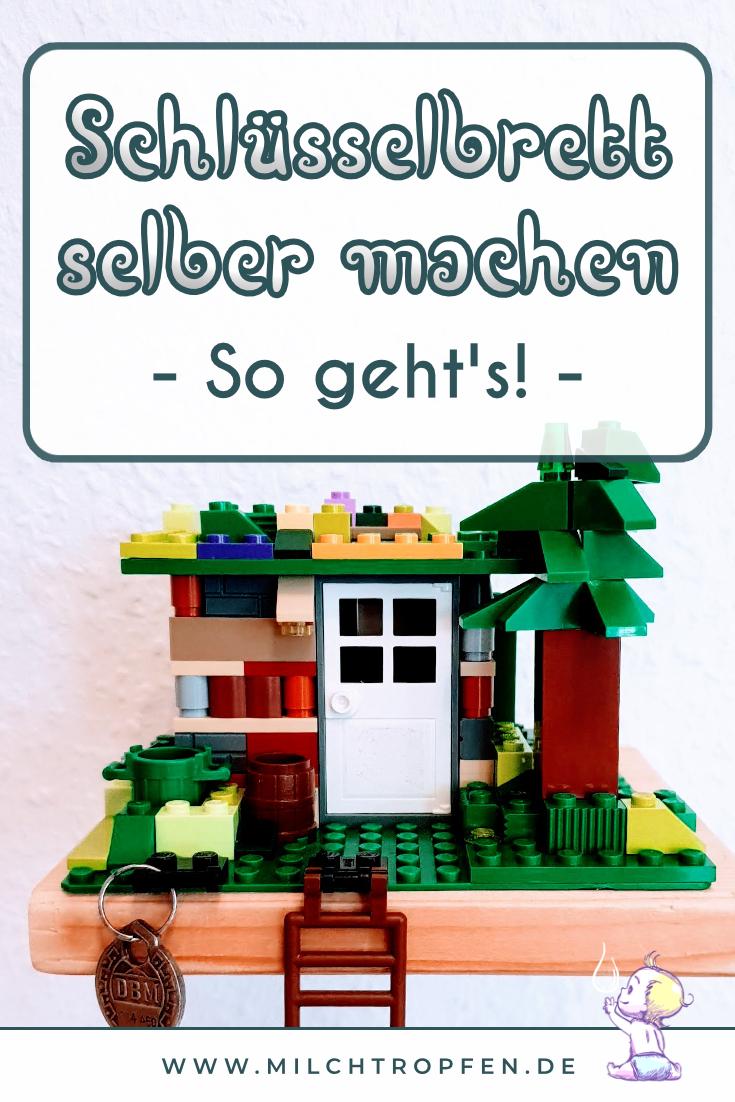 Schlüsselbrett selber machen - So geht's! | Mehr Infos auf www.milchtropfen.de