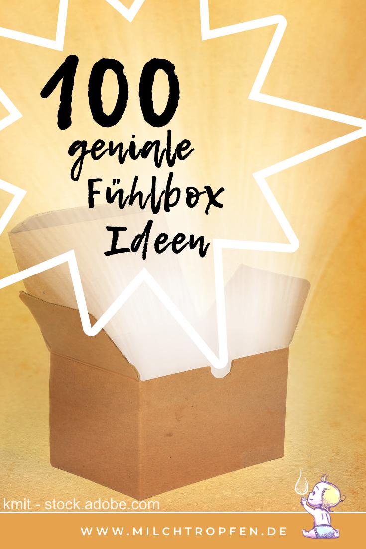 100 geniale Fühlbox Ideen | Mehr Infos auf www.milchtropfen.de