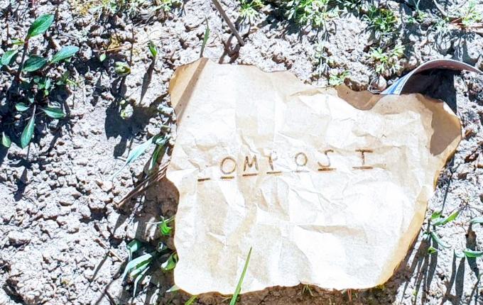 Rätsel für Schnitzeljagd - Kompost