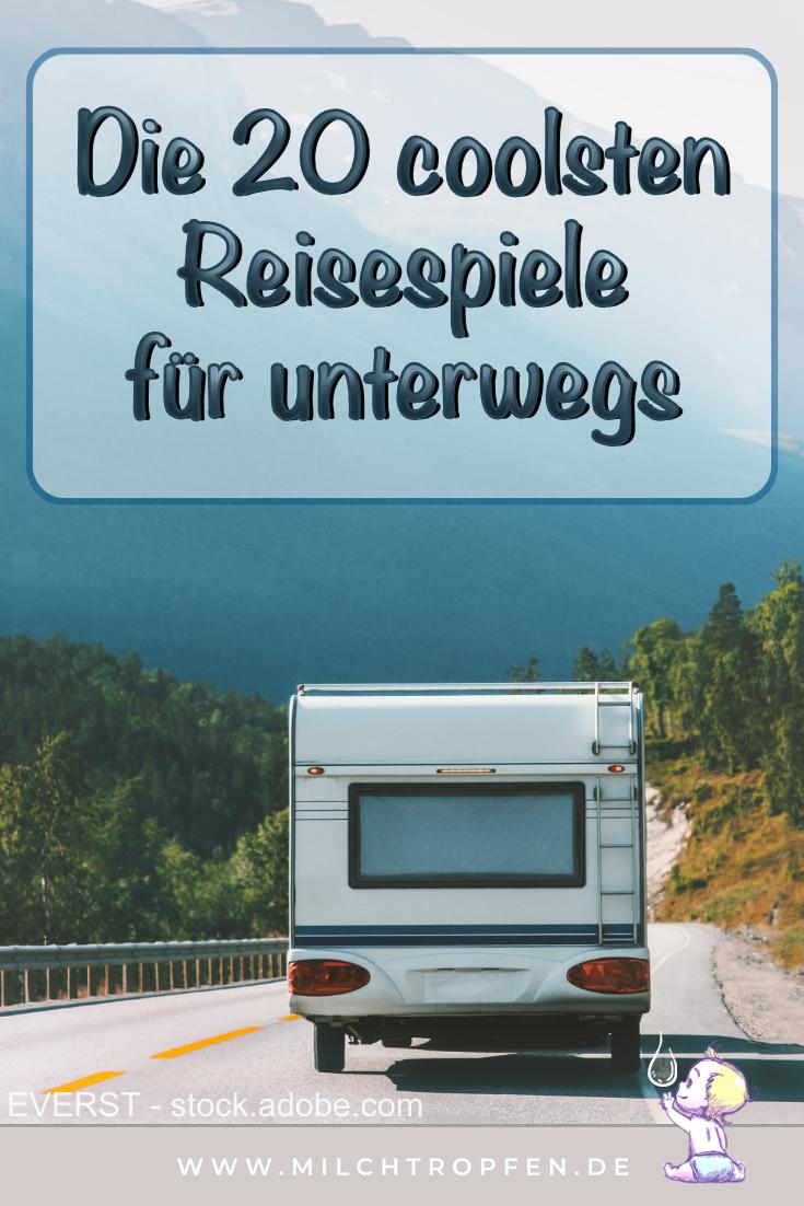 Die 20 coolsten Reisespiele für unterwegs | Mehr Infos auf www.milchtropfen.de