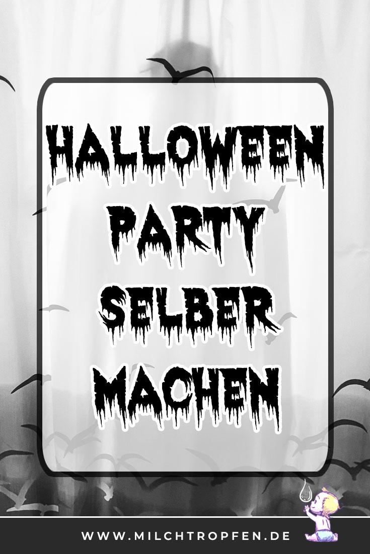 Halloween Party selber machen - Erhängter im Bad | Mehr Infos auf www.milchtropfen.de