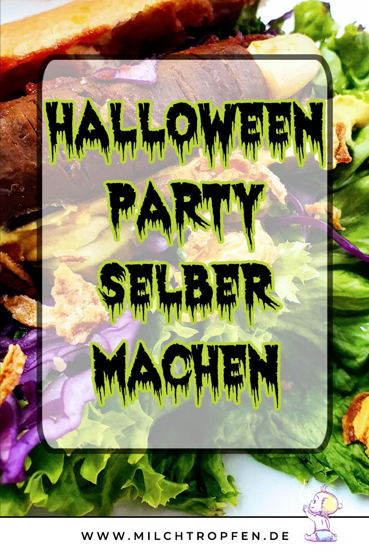 Halloween Party selber machen - Finger Hot Dog vegan | Mehr Infos auf www.milchtropfen.de