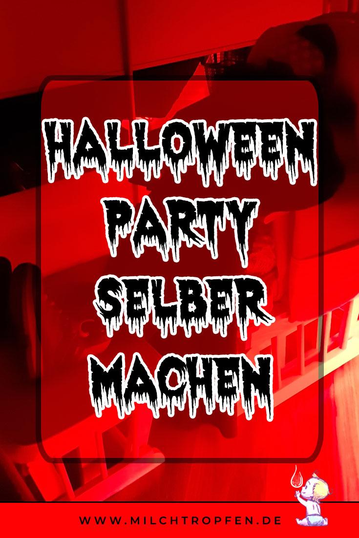 Halloween Party selber machen - Mann im Schaukelstuhl | Mehr Infos auf www.milchtropfen.de