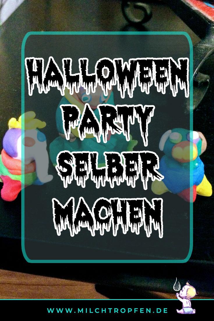 Halloween Party selber machen - Monster aus Knete | Mehr Infos auf www.milchtropfen.de
