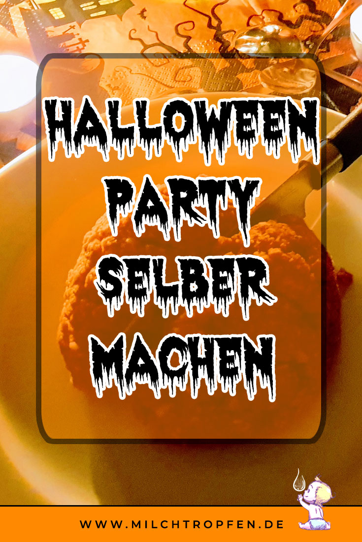 Halloween Party selber machen - veganes Hirn | Mehr Infos auf www.milchtropfen.de