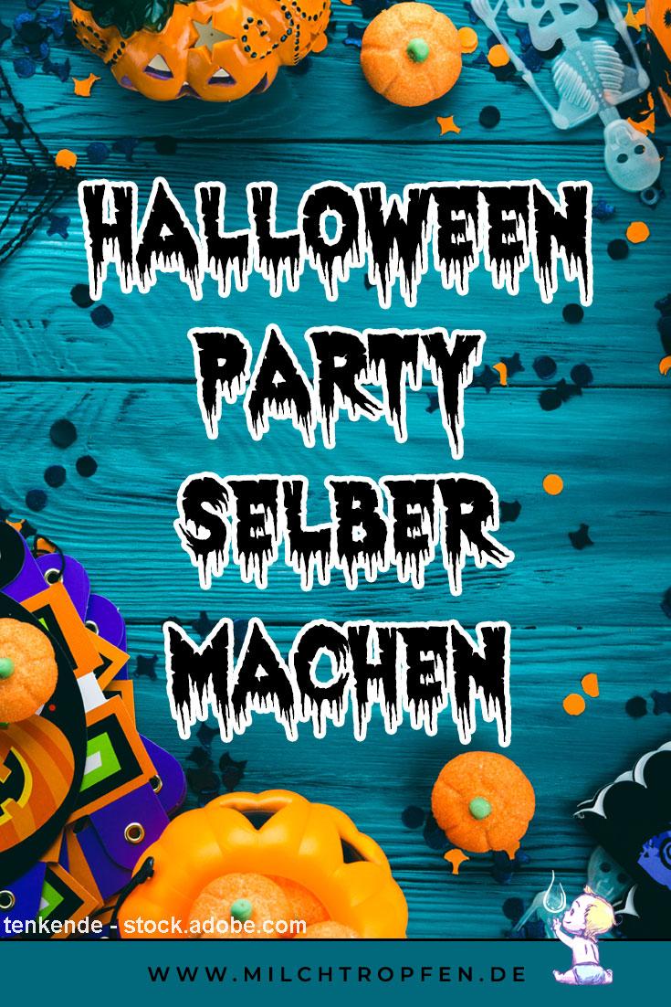 Halloweenparty selber machen | Mehr Infos auf www.milchtropfen.de