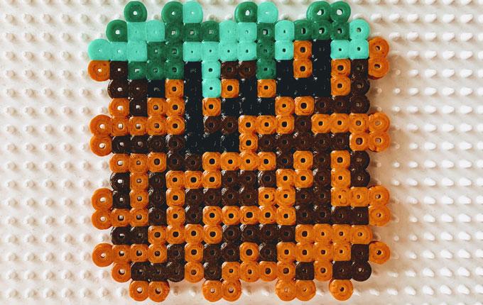 Seite 1 von Minecraft Spardose aus Bügelperlen