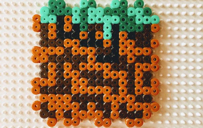 Seite 4 von Minecraft Spardose aus Bügelperlen
