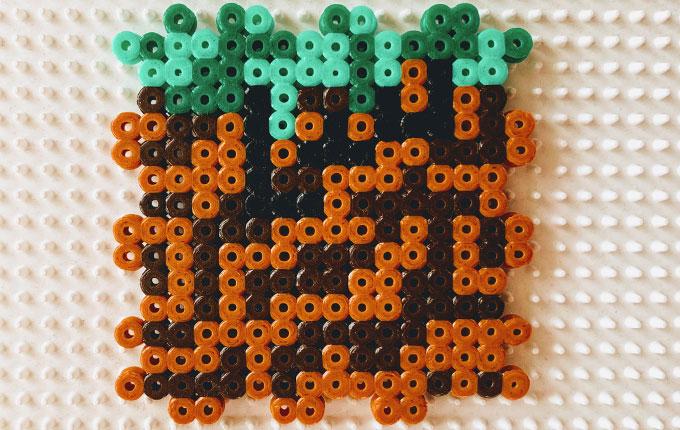 Seite 2 von Minecraft Spardose aus Bügelperlen