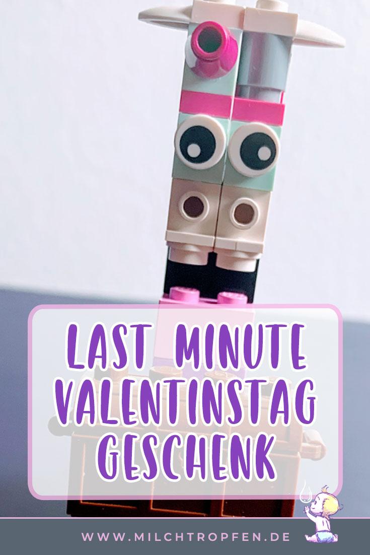 Last Minute Valentinstag Geschenk - Lego Einhorn